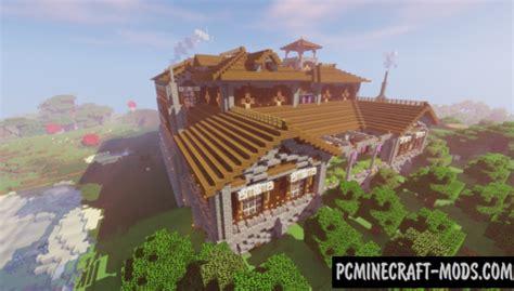 woodland mansion transformation map  minecraft