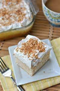 Coconut Pudding Poke Cake Recipe