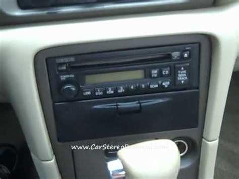 mazda  car radio removal  repair youtube