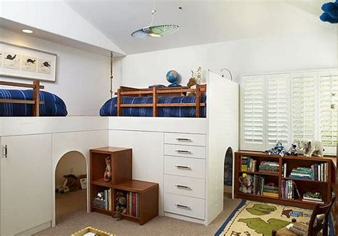 stylish loft beds  kids  creativeideas