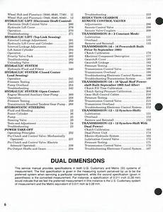 Ford 5640 6640 7740 7840 8240 8340 Tractor Service Manual