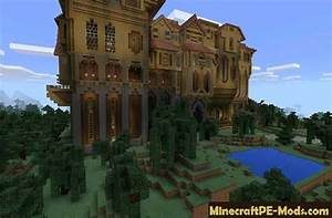 Herobrine Mansion Map for Minecraft PE 1.2.16, 1.2.13, 1.2 ...
