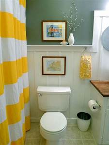 budget bathroom makeovers hgtv With decorating ideas for bathrooms on a budget