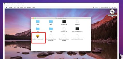 install guest additions  virtualbox
