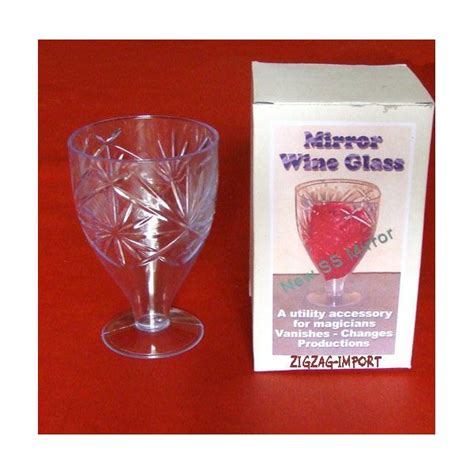 verre 224 vin miroir 14 99 magicshop