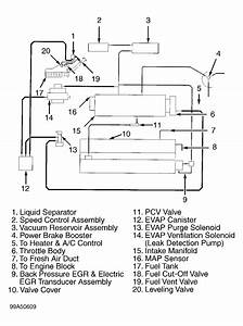 Vacuum Hose Diagram  Vacuum Hose Diagram For 99 Mitsubishi