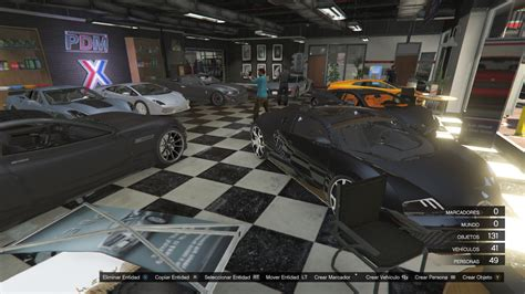 Simeon New Car Garage Gta5modscom