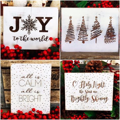 rustic christmas sign    shipped money saving mom