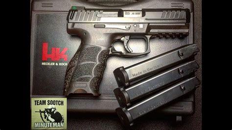 hk vp  caliber pistol review youtube