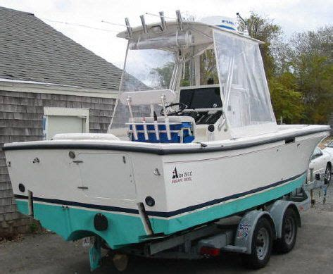 albin cape   cc  hp volvo boats yachts