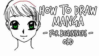 How to Draw  Manga face female -for beginners- - YouTube  Easy Anime Drawings For Beginners Step By Step
