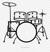 Drum Drums Clipart Kit Drawing Coloring Bateria Baterias Batteria Desenho Transparent Clip Noun Colorir Graphic Drumset Tamburi Pinclipart Strumenti Colorear sketch template