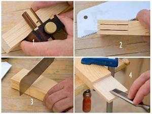 Tipos de empalmes para madera Bricolaje