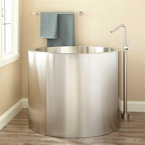tiny soaker tub 9 small bathtubs tiny bath tub sizes elledecor