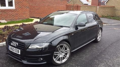 dachträger audi a4 avant b8 audi a4 b8 2 0 tdi 2010 170bhp avant black edition special edition estate open for offers in