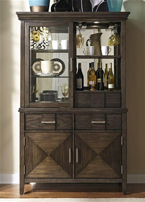 kitchen espresso cabinets patterson buffet and hutch in espresso finish by liberty 1599