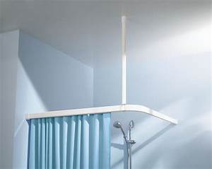 Schiene Für Duschvorhang : kleine wolke duschvorhang winkelschiene clevershower ~ Michelbontemps.com Haus und Dekorationen