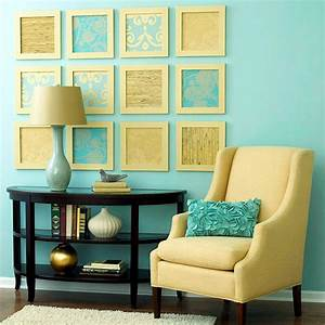 Creative wall design in the living room ideas for