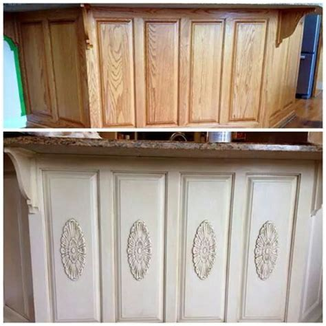 how make kitchen cabinets wood appliques to cabinets diy appliques 4365