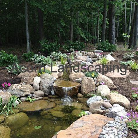 amazing fish ponds amazing backyard waterfall fish pond with paver patio transformation greece ny by acorn