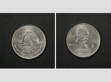Monedas de México 500 Pesos Madero