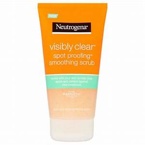 Neutrogena Visibly Clear Waschgel : neutrogena visibly clear spot proofing smoothing scrub beautyexpert ~ Avissmed.com Haus und Dekorationen