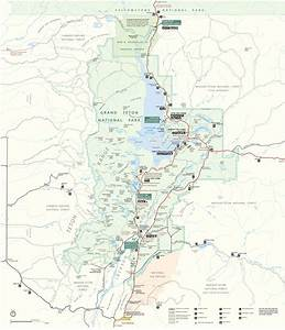 Grand Teton National Park Maps