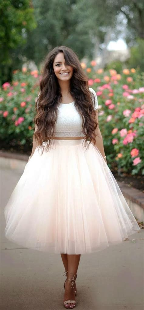 lace crop top  pastel tulle skirt custom  prom