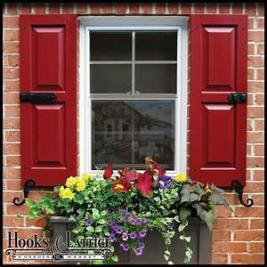 Custom Exterior Shutters, Standard Window Shutters Hooks
