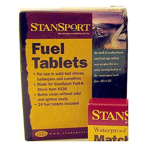 fuel tablets pack of 8