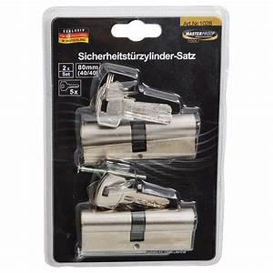 Schließzylinder Beidseitig Schließbar : schlie zylinder profilzylinder satz 80mm 40 40 2tlg 5schl ssel ebay ~ Watch28wear.com Haus und Dekorationen
