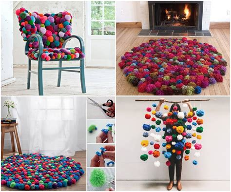 Cute Colorful Diy Pompom Crafts And Ideas [video Included]