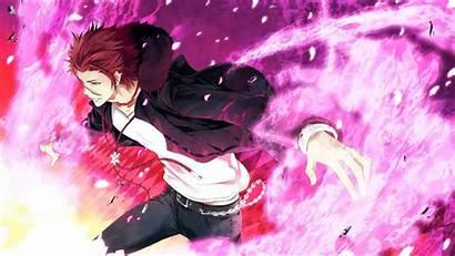 Project Anime King Hair Mikoto Nightcore Eyes