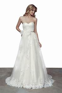 stunning strapless sweetheart neckline a line lace wedding With sweetheart neckline wedding dress lace