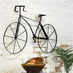 Wall Art Designs: amazing metal wall art bicycle wire