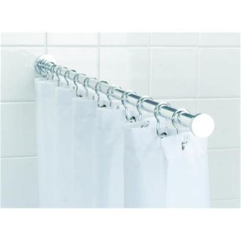 croydex spigot 44 1 in l luxury shower curtain rod with
