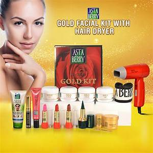 Buy Astaberry Gold Facial Kit with Hair Dryer Online at ...
