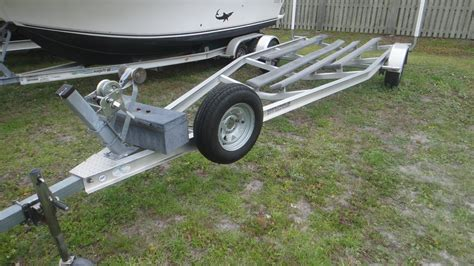 Boat Trailers For Sale Boat Trader by Two Aluminum Trailers For Sale The Hull Boating