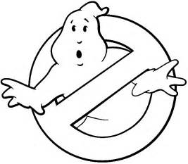 Ghostbusters Logo Black and White
