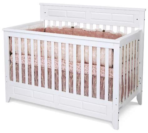 white convertible crib child craft f3470146 logan lifetime convertible crib