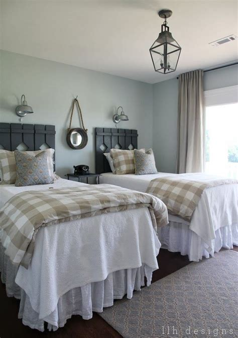 best bedroom paint color sherwin williams sherwin williams sea salt welcoming farmhouse style guest bedroom bedrooms and bedroom decor