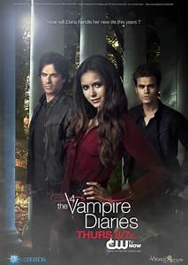 Poster season 4 The Vampire Diaries by KCV80 on DeviantArt