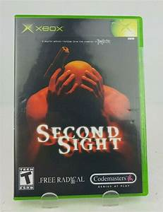 Second, Sight, Microsoft, Xbox, 2004, For, Sale, Online