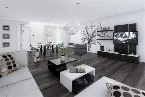 idee deco noir et blanc salon la d 233 coration noir et blanc vous surprenda avec style et chic archzine fr