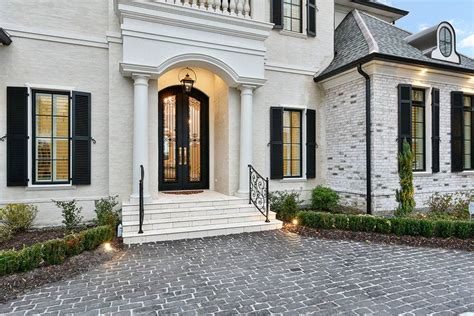 luxury story european style house plan jolie