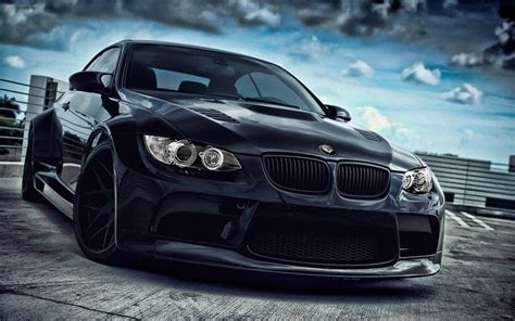 Bmw Black Dark Cars Vehicles Tuning Wheels Sport Cars