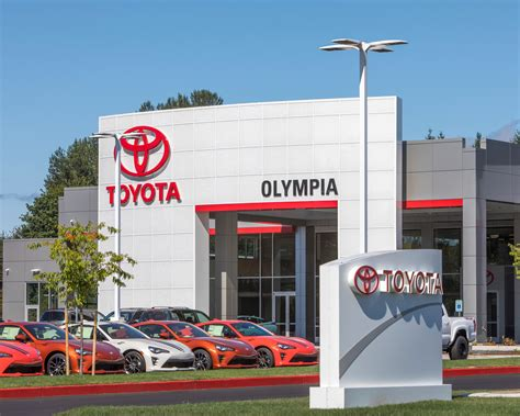 Olympia Toyota by Toyota Of Olympia Dealership Tyee Drive Extension Scj