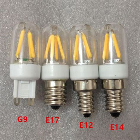 g9 filament led light g9 e17 e12 e14 filament light