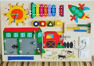 Activity Spielzeug Baby : busy board farm activity board sensorische von ~ A.2002-acura-tl-radio.info Haus und Dekorationen