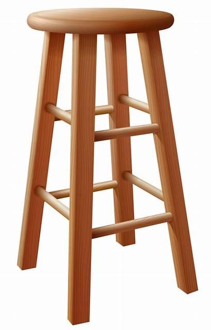 Stool Clipart Bar Wooden Furniture Wood Chair